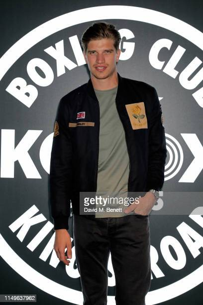 Toby HuntingtonWhiteley attends KOBOX New Flagship studio launch party on King's Road on May 16 2019 in London England