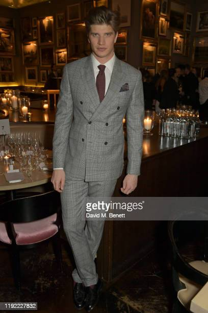 Toby HuntingtonWhiteley attends the British GQ dinner cohosted by Dylan Jones Jack Guinness in partnership with JPHackett No14 Savile Row during...