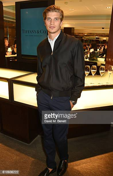Toby HuntingtonWhiteley attends the Tiffany Co and GQ Style celebration of the Autumn/Winter issue of GQ Style and the iconic Tiffany CT60 watches...