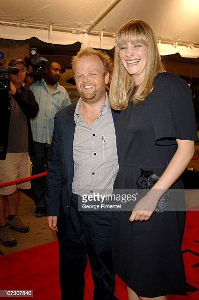 Toby Jones and Romola Garai during 31st Annual Toronto International Film Festival 'Amazing Grace' Premiere at Roy Thompson Hall in Toronto Canada