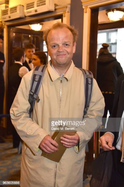 Toby Jones arrives at the press night performance of 'Consent' at the Harold Pinter Theatre on May 29 2018 in London England