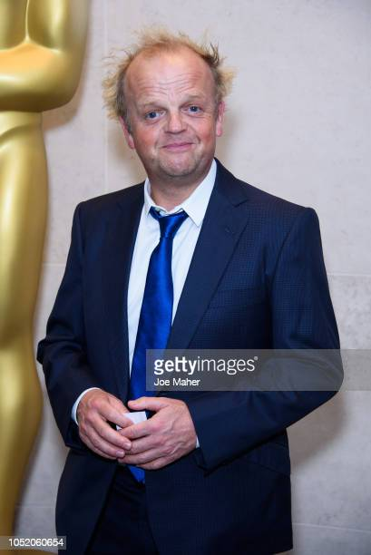 Toby Jones attends The Academy of Motion Picture Arts and Sciences new members reception at The National Gallery on October 13 2018 in London England