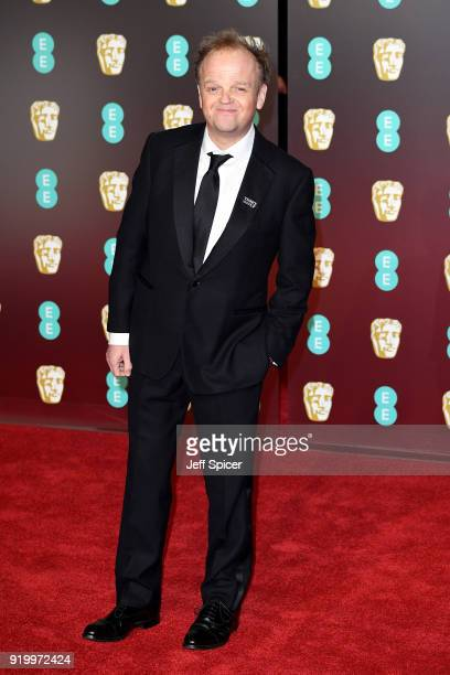 Toby Jones attends the EE British Academy Film Awards held at Royal Albert Hall on February 18 2018 in London England