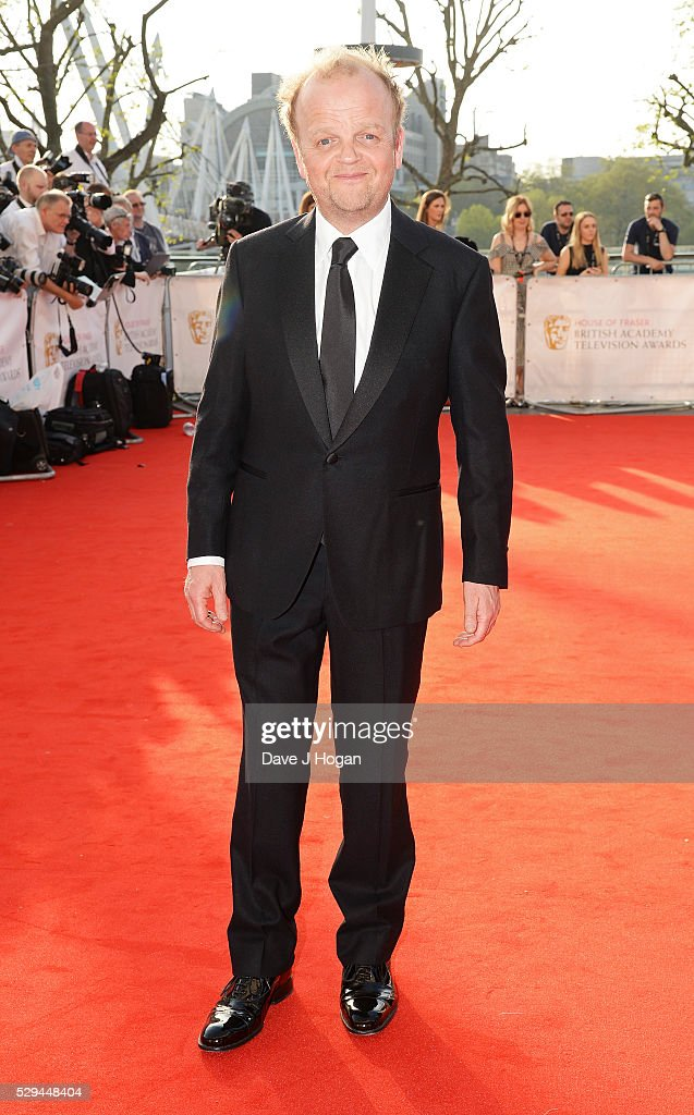 Toby Jones attends the House Of Fraser British Academy Television Awards 2016 at the Royal Festival Hall on May 8, 2016 in London, England.