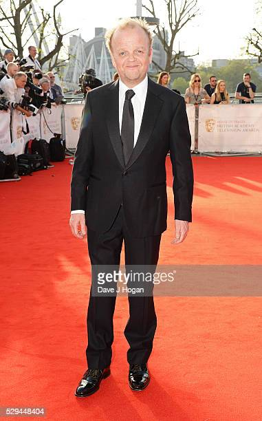 Toby Jones attends the House Of Fraser British Academy Television Awards 2016 at the Royal Festival Hall on May 8 2016 in London England