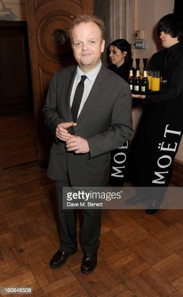 Toby Jones attends the London Evening Standard British Film Awards supported by Moet Chandon and Chopard at the London Film Museum on February 4 2013...