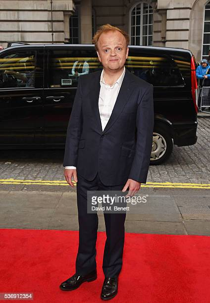 Toby Jones attends the UK Premiere of 'Tale Of Tales' at The Curzon Mayfair on June 1 2016 in London England