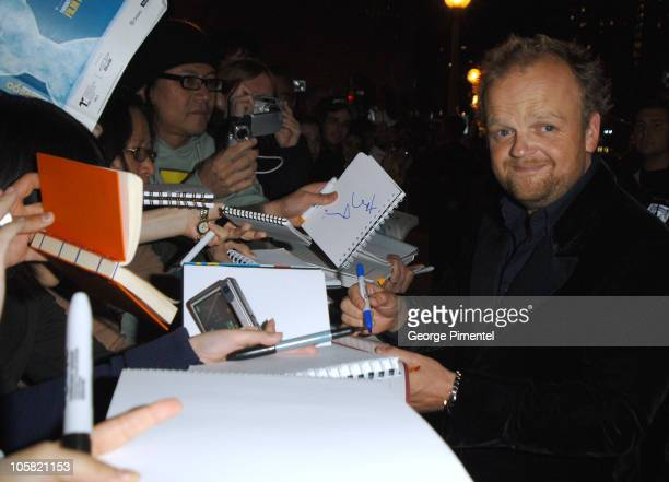 Toby Jones during 31st Annual Toronto International Film Festival 'Infamous' Premiere at Roy Thompson Hall in Toronto Ontario Canada