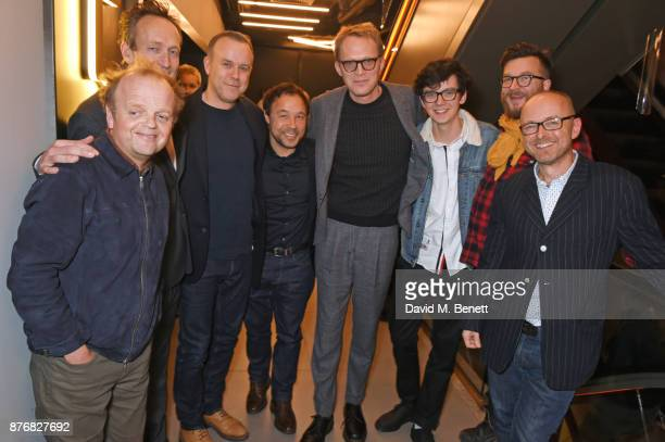 Toby Jones producer Guy de Beaujeu director Saul Dibb Stephen Graham Paul Bettany Asa Butterfield cinematographer Laurie Rose and writer/producer...