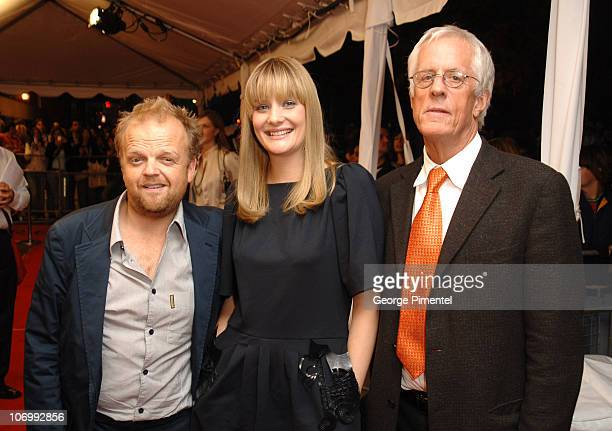 Toby Jones Romola Garai and Michael Apted director