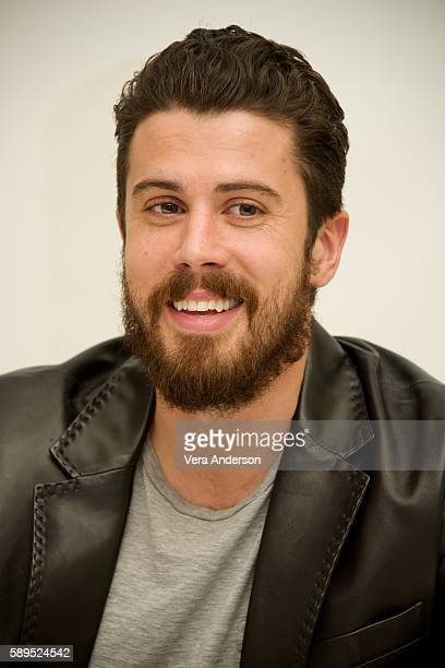 "Toby Kebbell at the ""Ben-Hur"" Press Conference at the Four Seasons Hotel on August 5, 2016 in Beverly Hills, California."