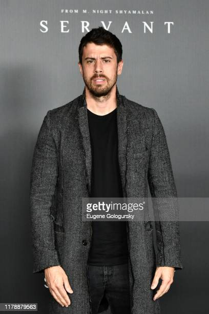 Toby Kebbell attends Servant Panel during New York Comic Con at Hammerstein Ballroom on October 03, 2019 in New York City.