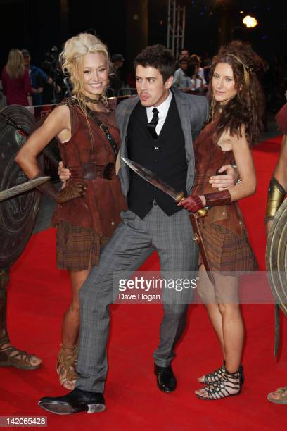 Toby Kebbell attends the European premiere of Wrath Of The Titans at The BFI IMAX on March 29, 2012 in London, England.