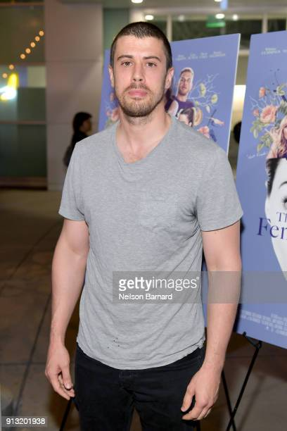 Toby Kebbell attends the premiere of IFC Films' 'The Female Brain' at ArcLight Hollywood on February 1, 2018 in Hollywood, California.