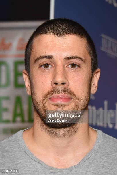 Toby Kebbell attends the premiere of IFC Films' 'The Female Brain' at ArcLight Hollywood on February 1, 2018 in Los Angeles, California.