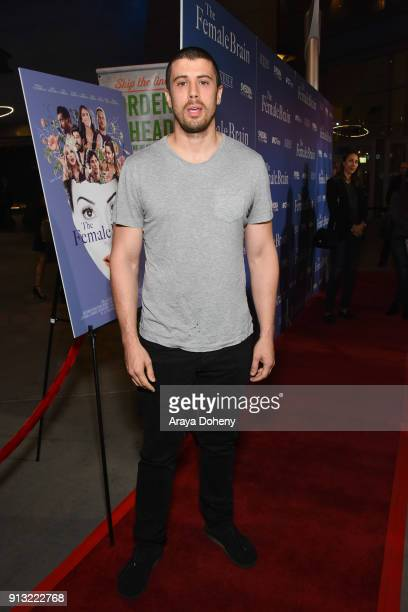 Toby Kebbell attends the premiere of IFC Films' 'The Female Brain' at ArcLight Hollywood on February 1 2018 in Los Angeles California