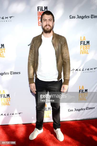 "Toby Kebbell attends the ""The Female Brain"" Premiere during the 2017 Los Angeles Film Festival at Arclight Cinemas Culver City on June 17, 2017 in..."