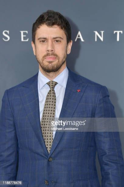 "Toby Kebbell attends the world premiere of Apple TV+'s ""Servant"" at BAM Howard Gilman Opera House on November 19, 2019 in the Brooklyn Borough of New..."