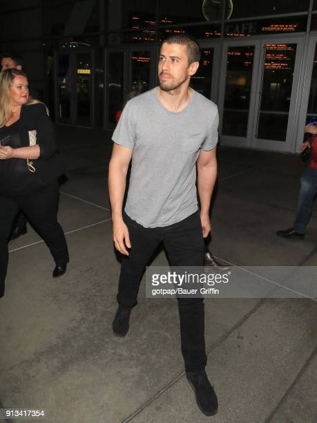 Toby Kebbell is seen on February 01 2018 in Los Angeles California