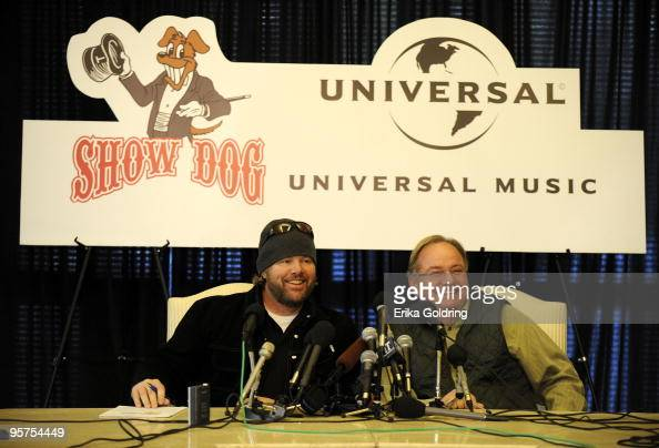 Toby Keith And Mark Wright Announce The Merge Of Show Dog Nashville News Photo Getty Images
