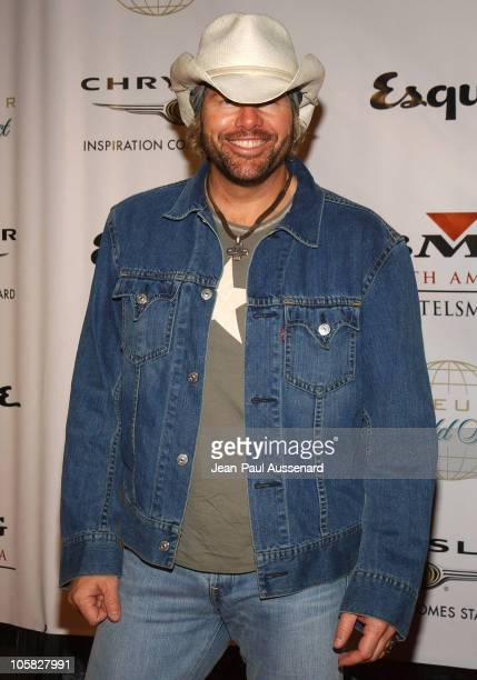 Toby Keith during Clive Davis Hosts A Celebration of The American Music Awards Arrivals at Esquire House in Beverly Hills California United States