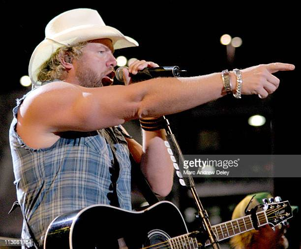 Toby Keith during NFL Opening Kickoff 2004 – Pregame Show at Gillette Stadium in Foxboro, Massachusetts, United States.