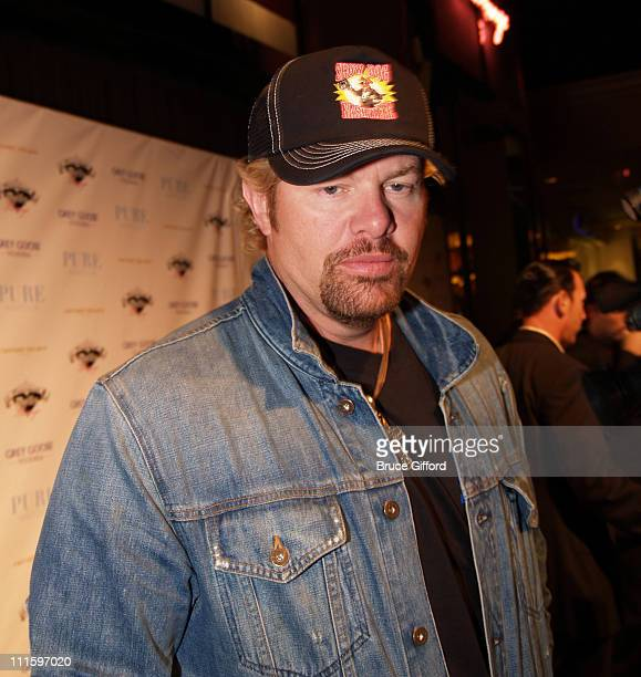 Toby Keith during Pussycat Dolls in Concert at Pure in Las Vegas April 8 2006 at Pure Nightclub in Las Vegas Nevada United States