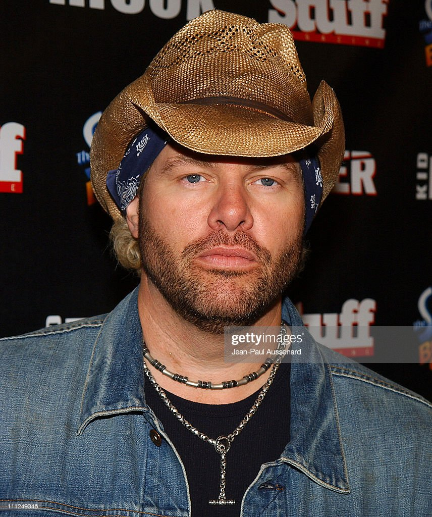 Toby Keith during STUFF Magazine and Blender Host Kid Rock's After - Party For The 2003 American Music Awards- Red Carpet/Inside at Forbidden City in Hollywood, California, United States.