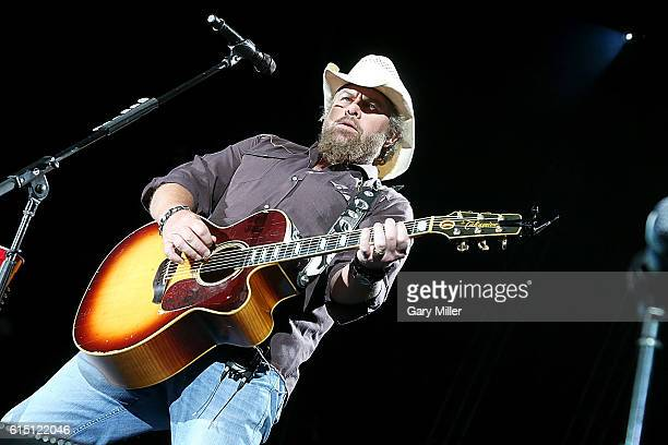 Toby Keith performs in concert at Austin360 Amphitheater on October 16 2016 in Austin Texas