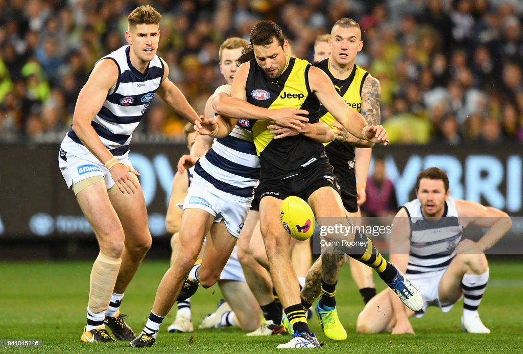 AFL Second Qualifying Final - Geelong v Richmond : News Photo