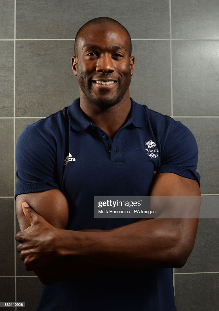 Toby Olubi during the PyeongChang 2018 Olympic Winter Games photocall at Heriot Watt University, Oriam. PRESS ASSOCIATION Photo. Picture date: Friday August 18, 2017. Photo credit should read: Mark Runnacles/PA Wire