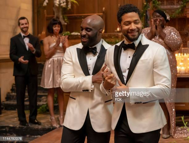 Toby Onwumere and Jussie Smollett in the Never Doubt I Love episode of EMPIRE airing Wednesday April 24 on FOX