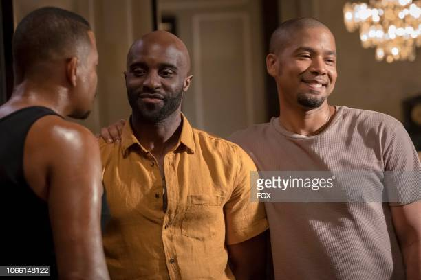 Toby Onwumere and Jussie Smollett in the Steal From the Thief Season Five premiere episode of EMPIRE airing Wednesday September 26 on FOX