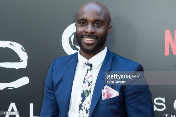 Toby Onwumere attends Netflix's Sense8 Series Finale Fan Screening at ArcLight Hollywood on June 7 2018 in Hollywood California