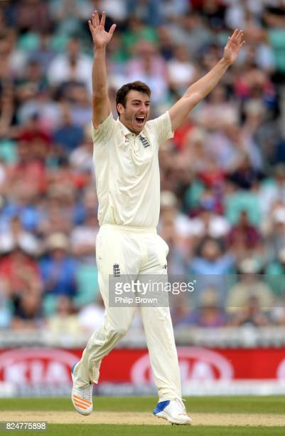 Toby RolandJones of England appeals and dismisses Vernon Philander of South Africa lbw during the fifth day of the 3rd Investec Test match between...