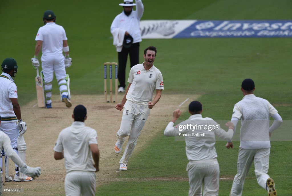 England v South Africa - 3rd Investec Test: Day Five : News Photo