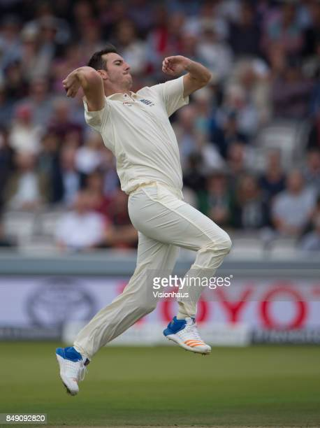 Toby RolandJones of England during Day One of the 3rd Investec Test Match between England and West Indies at Lord's Cricket Ground on September 7...
