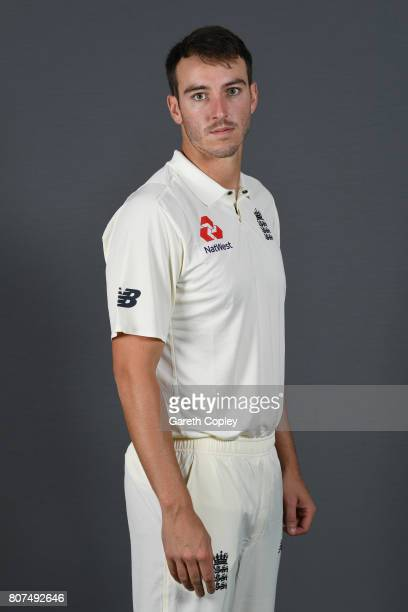 Toby RolandJones of England poses for a portrait at Lord's Cricket Ground on July 4 2017 in London England