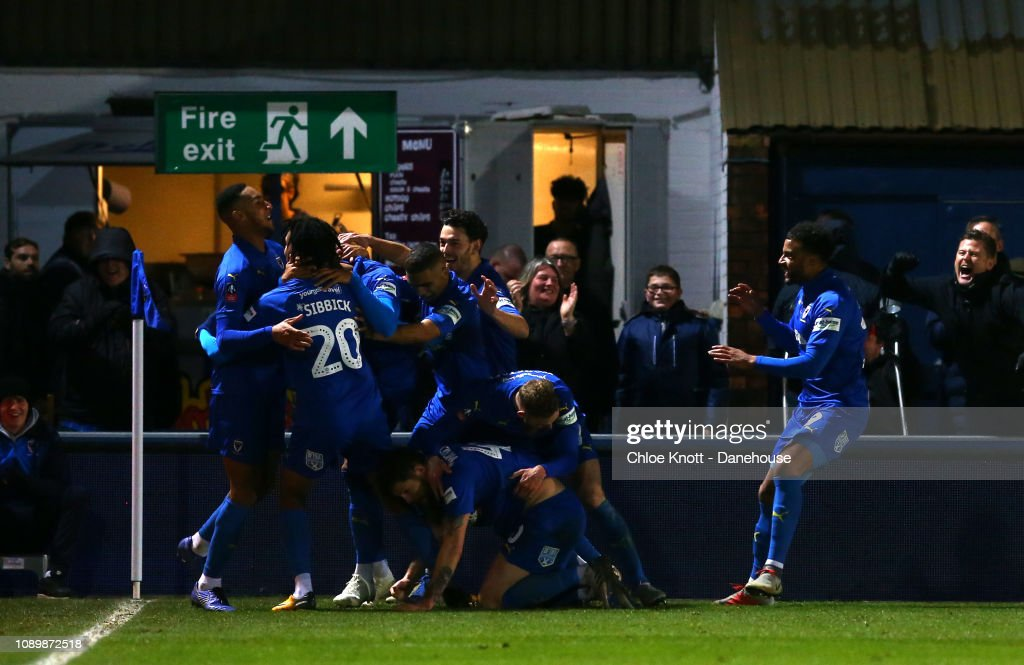 AFC Wimbledon v West Ham United - FA Cup 4th round : News Photo