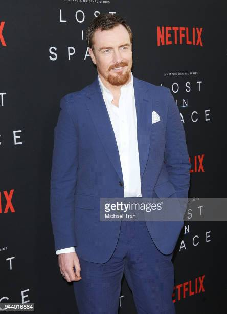 Toby Stephens arrives to the Los Angeles premiere of Netflix's 'Lost In Space' Season 1 held at The Cinerama Dome on April 9 2018 in Los Angeles...