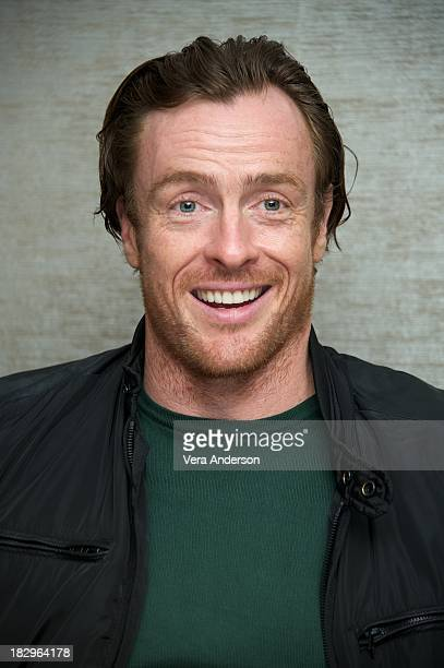 Toby Stephens at the 'Black Sails' Press Conference at The Mayfair Hotel on October 1 2013 in London England