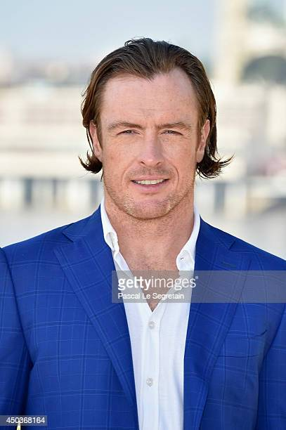 Toby Stephens attends a photocall for the TV Show ' Black Sails' as part of the 54th MonteCarlo Television Festival on June 10 2014 in MonteCarlo...