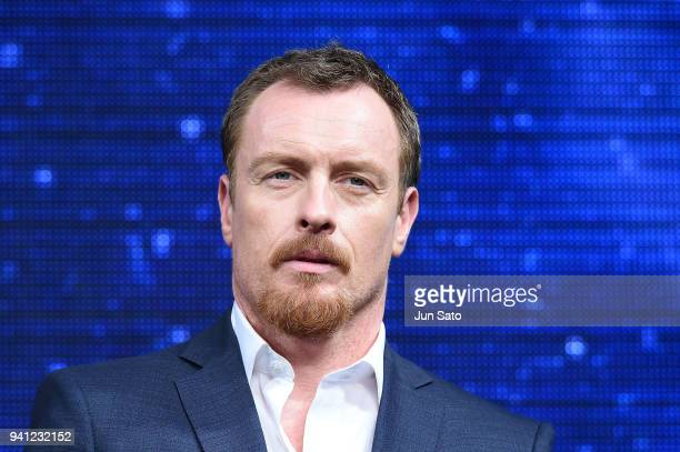 Toby Stephens attends the 'Lost In Space' premier event at Omotesando Hills on April 3 2018 in Tokyo Japan