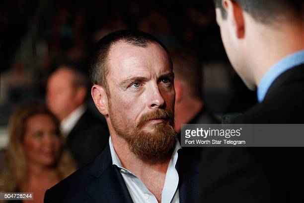 Toby Stephens attends the premiere of '13 Hours The Secret Soldiers of Benghazi' at ATT Stadium in Arlington Texas on Tuesday Jan 12 2016