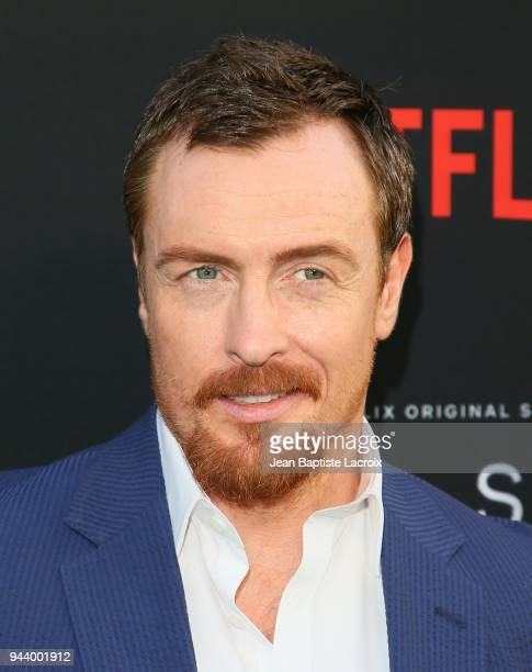 Toby Stephens attends the premiere of Netflix's 'Lost In Space' Season 1 on April 9 2018 in Los Angeles California