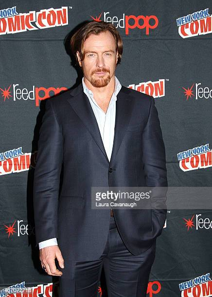 Toby Stephens in the 'Black Sails' Press Room at 2014 New York Comic Con Day 3 at Jacob Javitz Center on October 11 2014 in New York City
