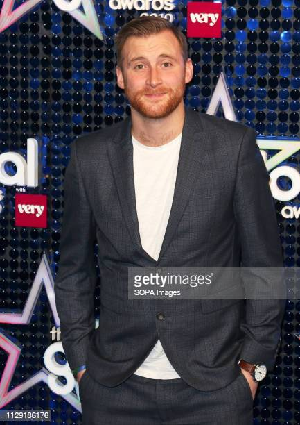Toby Tarrant attends The Global Awards 2019 at the Eventim Hammersmith Apollo in London