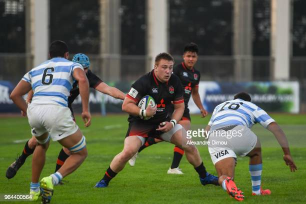 Toby Trinder of England during the World Championship U 20 match between England and Argentina on May 30 2018 in Narbonne France