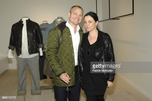Toby Usnik and Kelly Cutrone attend ZADIG VOLTAIRE New York City Store Opening at Zadig Voltaire on April 6 2009 in New York City