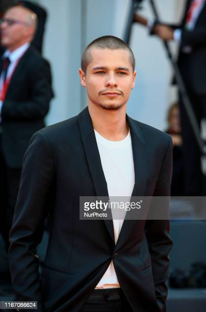 Toby Wallace walks the red carpet ahead of the closing ceremony of the 76th Venice Film Festival at Sala Grande on September 07 2019 in Venice Italy